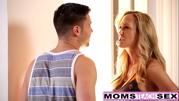 Mom and son, Brandi love, Yoga hot